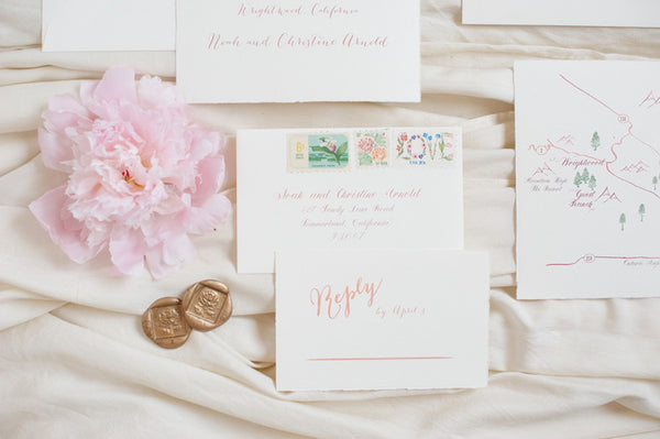 Woodland Wedding Suite with Wax Seal