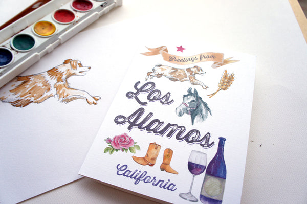 Los Alamos Greeting Card