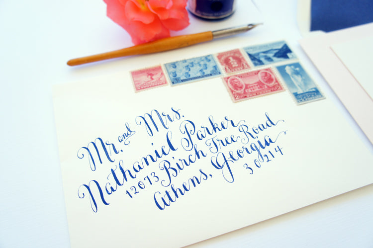 Santa Barbara Custom Invitation