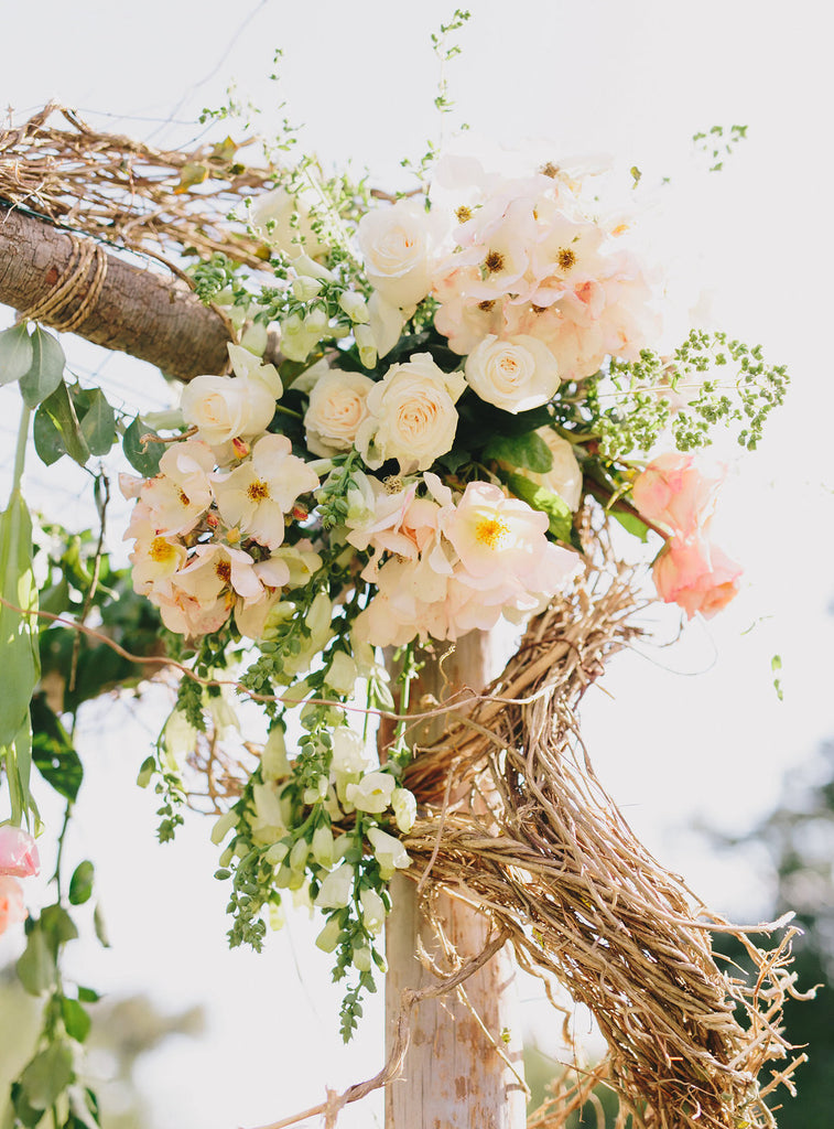 Spring wedding at San Ysidro Ranch | wedding paper by @honeypaper