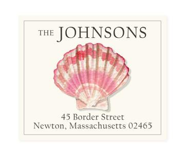 Custom Address Stickers - Pink Tinged