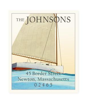 Custom Address Stickers - Yachting (2 Styles Available)