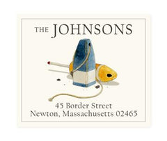 Custom Address Stickers - Buoys