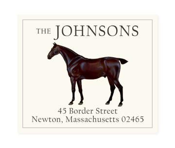 Custom Address Stickers - Black Arrow