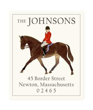 Custom Address Stickers - Red Rider (2 Styles Available)