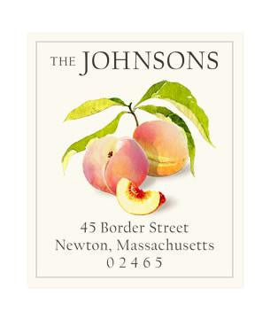 Custom Address Stickers - Juicy Peaches