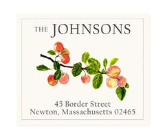 Custom Address Stickers - Orchard Bounty