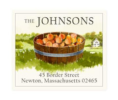 Custom Address Stickers - Peach Farm