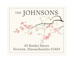 Custom Address Stickers - Pink Cherry (2 Styles Available)