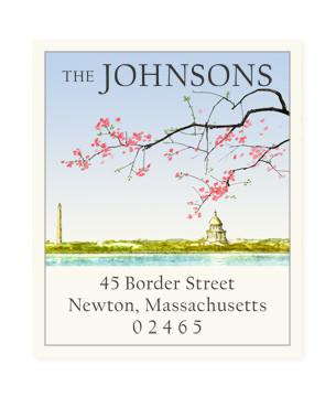 Custom Address Stickers - Capital Blossoms