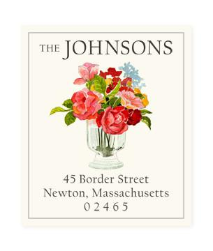 Custom Address Stickers - Garden Cut