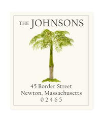 Custom Address Stickers - West Indies