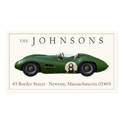 Custom Address Stickers - Aston Martin