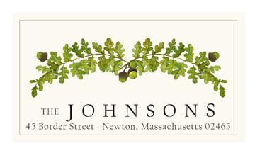 Custom Address Stickers - Oak Arrangements