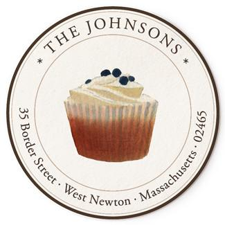 Custom Address Stickers - Cupcake (2 Style Available)