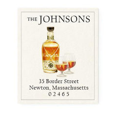 Custom Address Stickers - Bourbon for Two