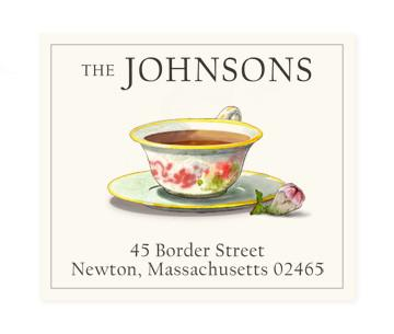 Custom Address Stickers - Jasmine Tea