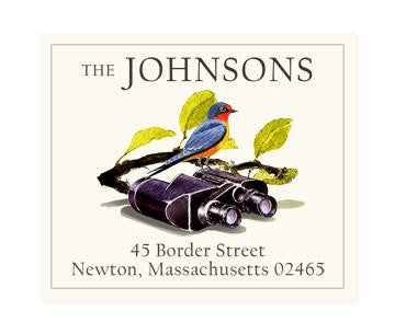 Custom Address Stickers - Birding
