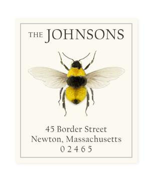 Custom Address Stickers - Bumblebee