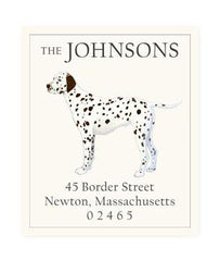 Custom Address Stickers - Dalmatian