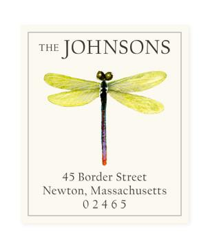 Custom Address Stickers - Dragonfly