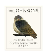Custom Address Stickers - Elfin Owl (2 Styles Available)