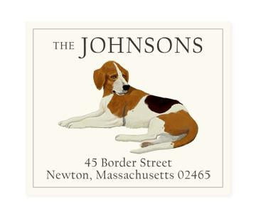 Custom Address Stickers - Beagle B