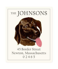 Custom Address Stickers - Loyal Friend