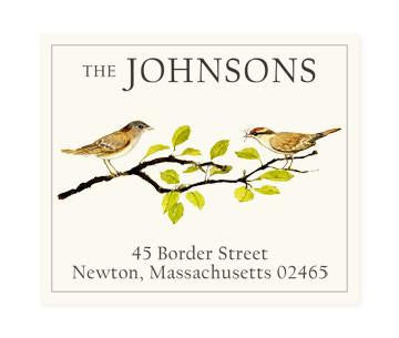Custom Address Stickers - Sparrows