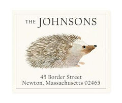 Custom Address Stickers - Hedgie