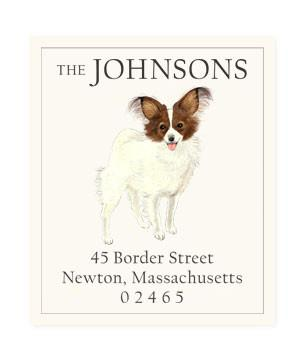 Custom Address Stickers - Papillon