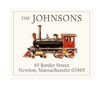 Custom Address Stickers - All Aboard