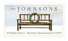 Custom Address Stickers - Christmas is Coming