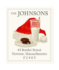 Custom Address Stickers - Santa's Snack (2 Styles Available)