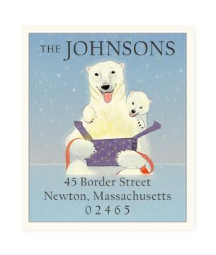 Custom Address Stickers - Heart Warmer