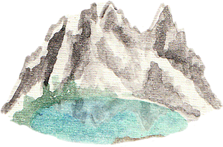 Alpine Lake downloadable artwork