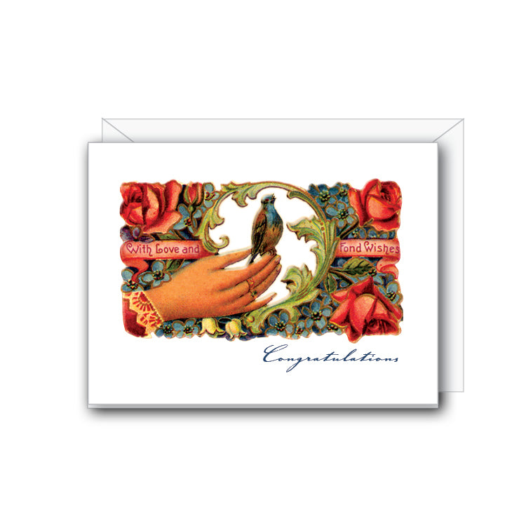 Congratulations With Love Greeting Card - NOW 40% OFF