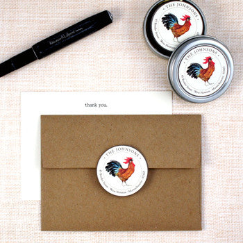 Custom Address Stickers - Quail