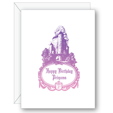 Happy Birthday Princess Greeting Card