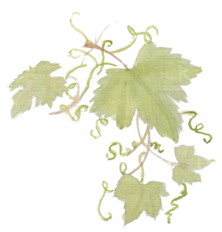 Grapevine Leaves downloadable artwork