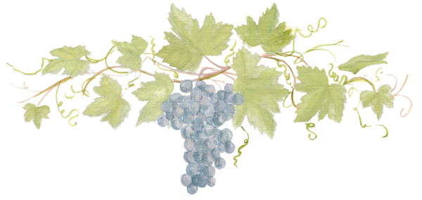 Grapevine with Red Grapes downloadable artwork
