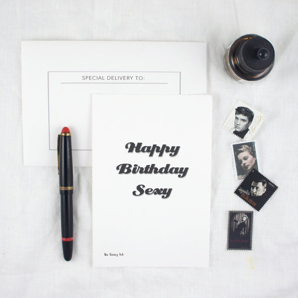 Happy Birthday Sexy Greeting Card