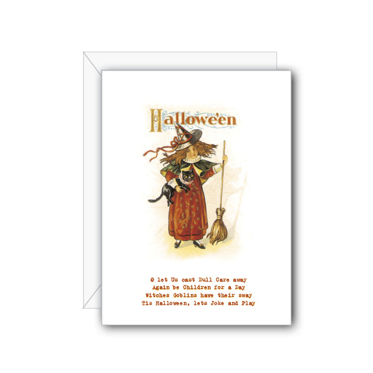 Halloween Poem Greeting Card