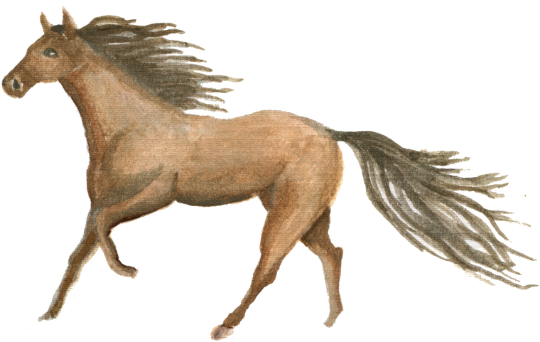 Running Horse downloadable artwork