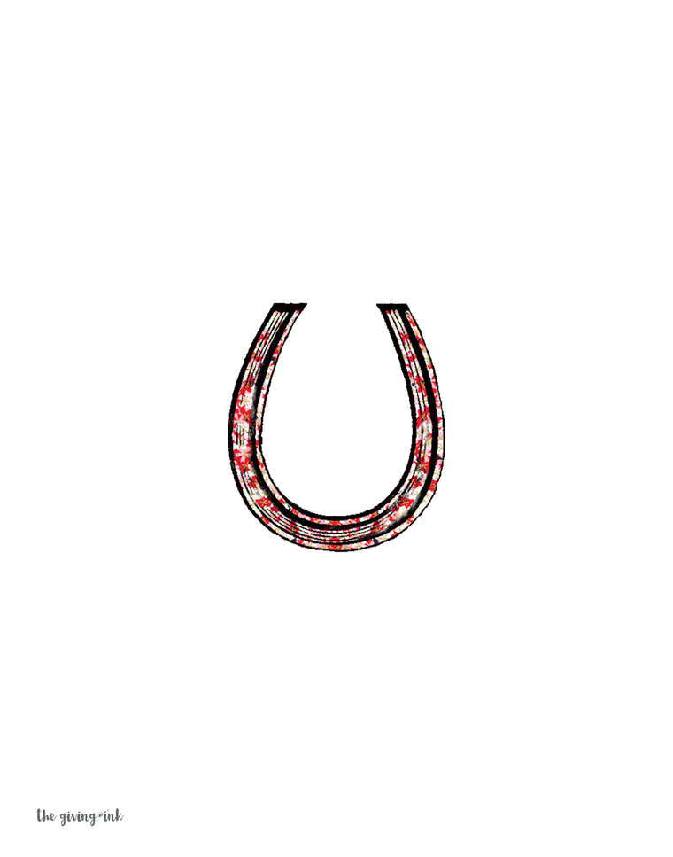 Horseshoe Downloadable Print