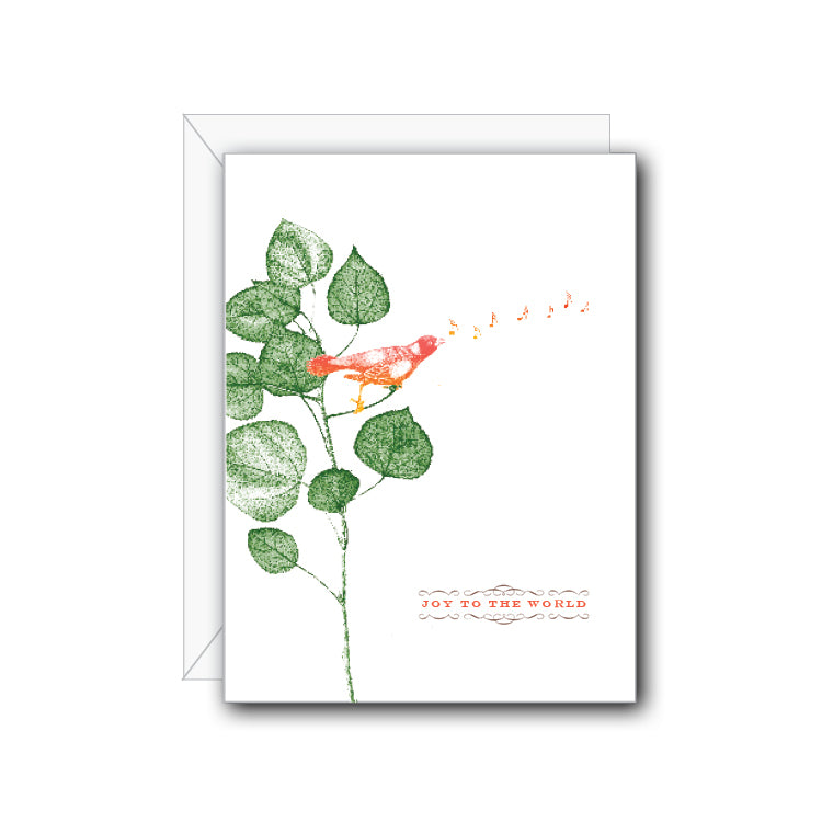 Joy to the World Greeting Card