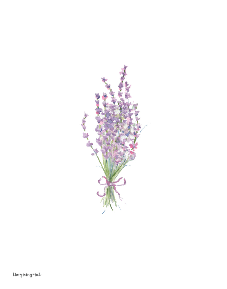 Lavender Downloadable Print