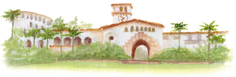 Santa Barbara Courthouse downloadable artwork