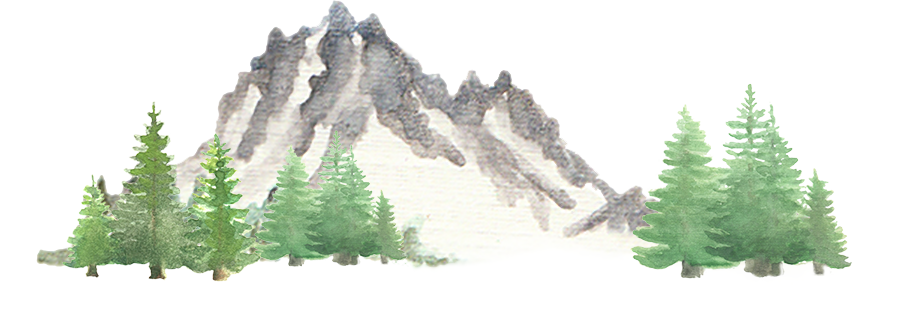Mountain with Trees downloadable artwork