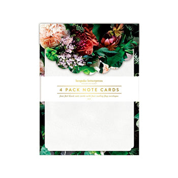 Botanica Scallop Notecard Set